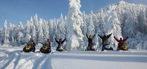 Snowmobile rentals Muskoka