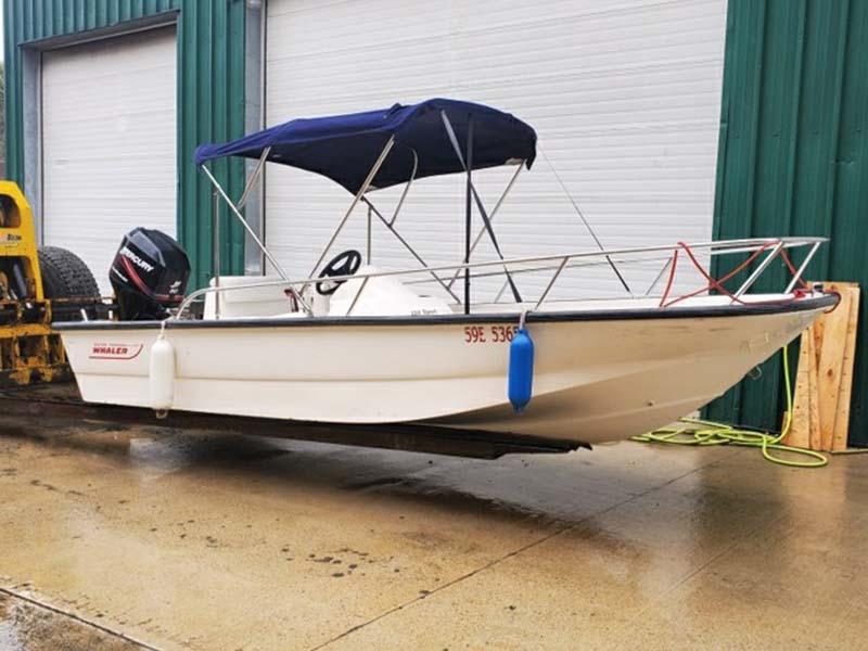 SWS Speedboat on Lake